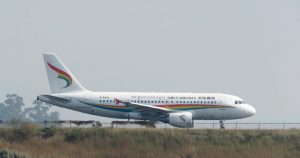 B-6440 aircraft of Tibet Airline, Airbus A319-115